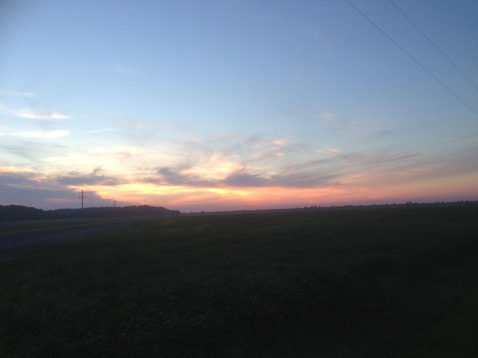 Illinois randolph county baldwin - Late Summer Sunset In Randolph County Il Photo Courtesy Of Christopher Martin Randolph