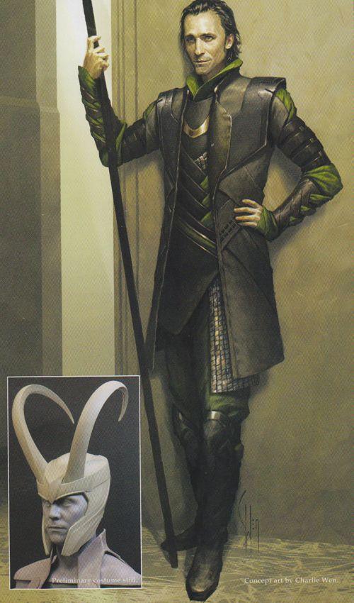 Loki concept art.