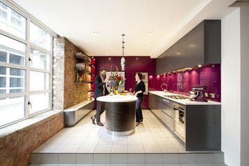 london kitchen design pictures remodel decor and ideas page 4 - Magenta Kitchen Design