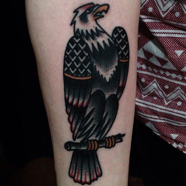 e269dab1a Mike Adams // traditional style bald eagle tattoo | Tattoos ...