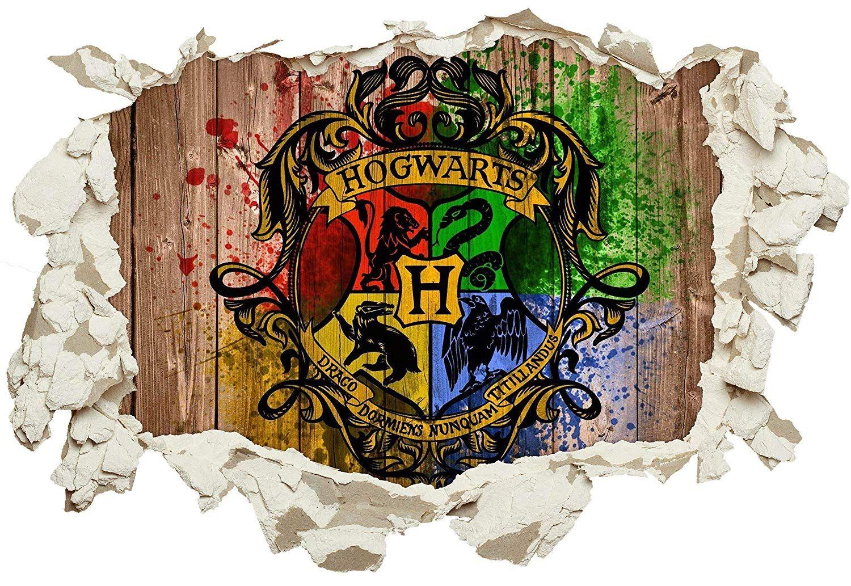 Pin Von Kinderzimmer Mottoparty Ge Auf Madchenzimmer Aufkleber Fur Wande Hogwarts Wandtattoo