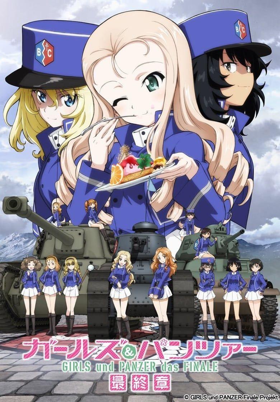Girls und Panzer das Finale: Part II  Anime movies, Streaming