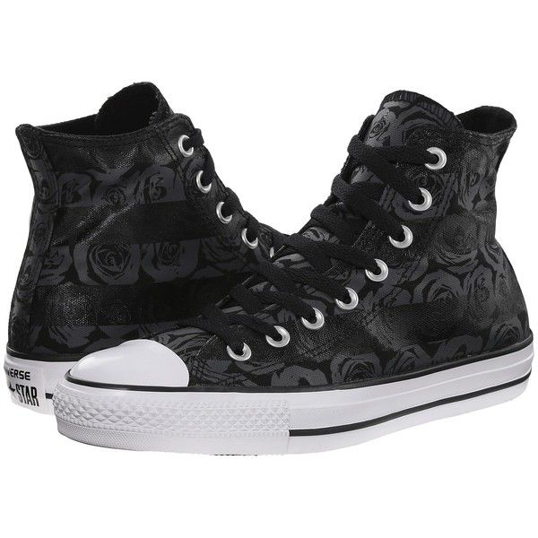 d16b7c62e4890b Converse Chuck Taylor All Star Rose Print Hi Women s Lace up casual...  ( 60) ❤ liked on Polyvore featuring shoes