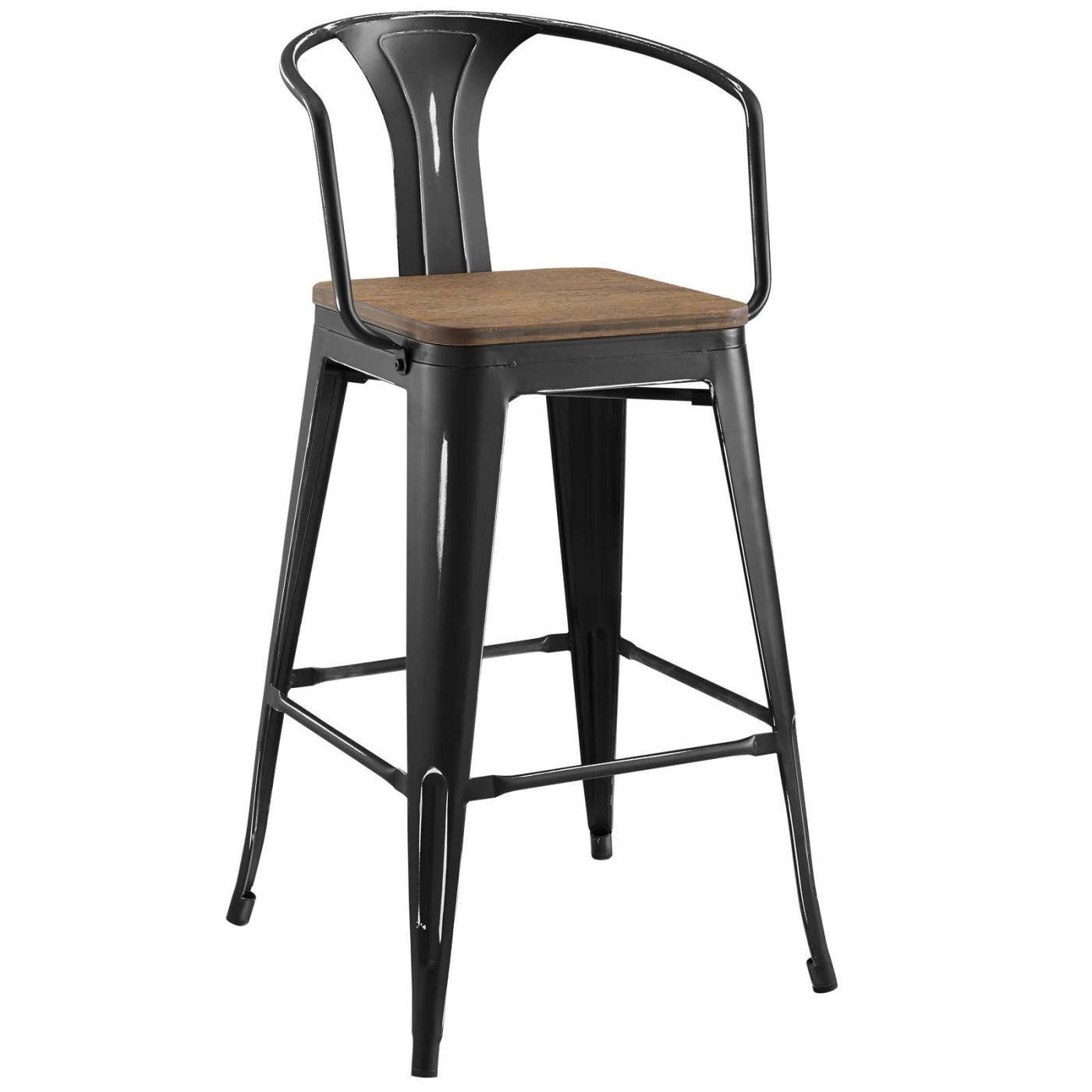 Fine Modway Bar Chairs On Sale Eei 2818 Whi Promenade Cafe And Inzonedesignstudio Interior Chair Design Inzonedesignstudiocom