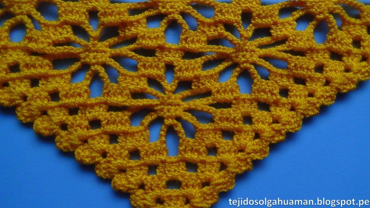 Arañitas A 1 Punto Tejido Chal En Video Paso Crochet wZkXTluOPi