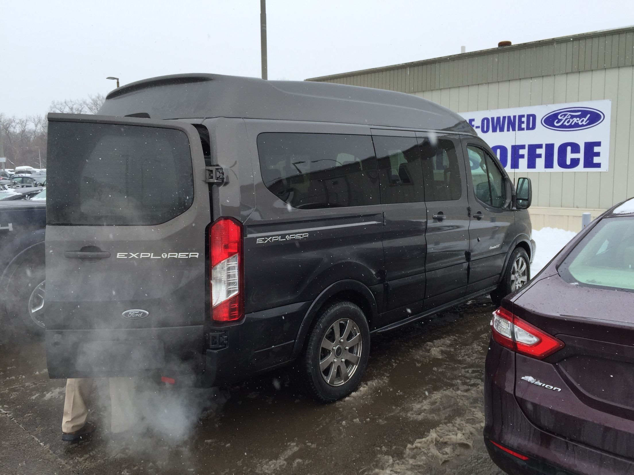 2015 Ford Transit Conversion Van This Amazing Van Was Done By