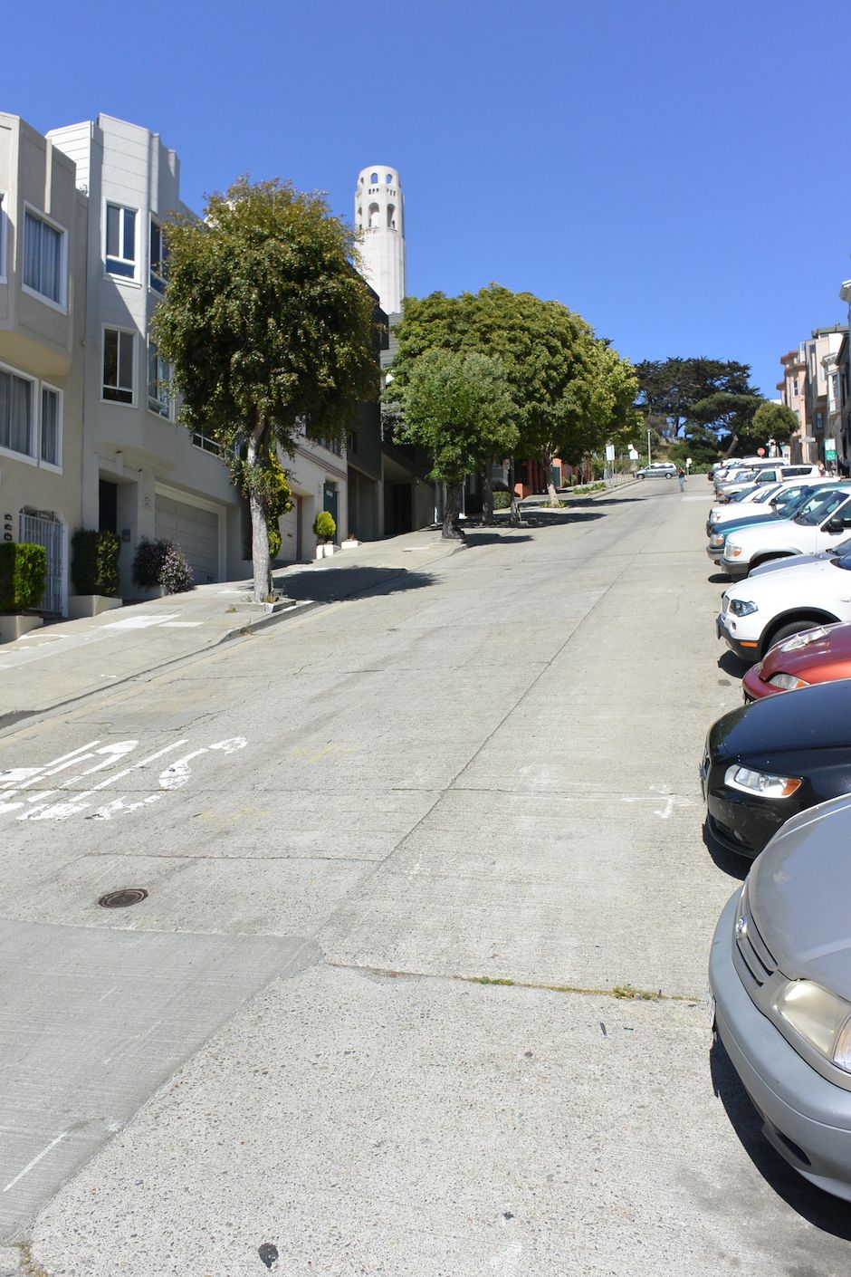 San Francisco, Steep Streets - Work and Travel Kanada - http://workandtravelkanada.com