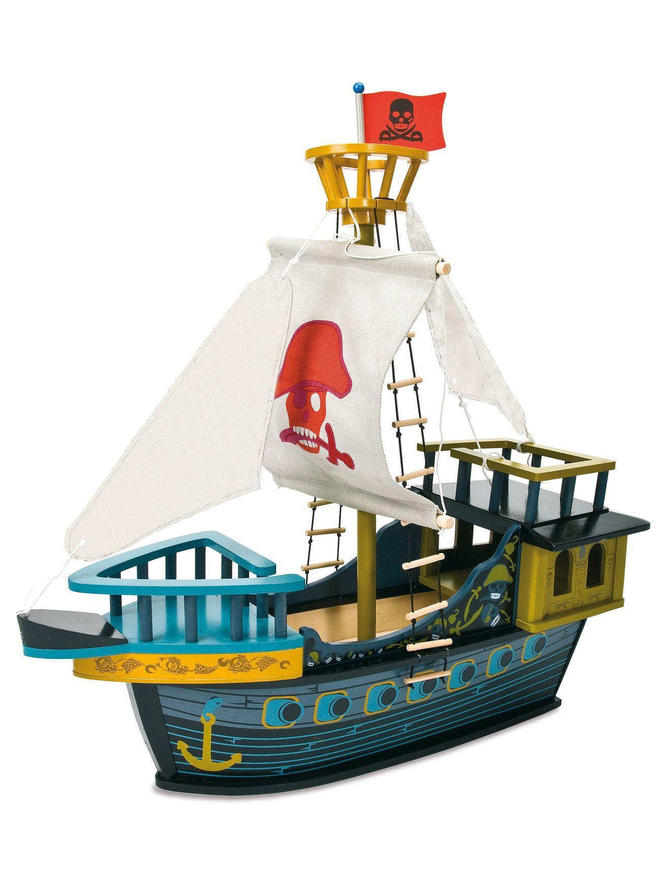 bateau en bois pirate 39 s boat pinterest bateau en bois jouets en bois et jouet pas cher. Black Bedroom Furniture Sets. Home Design Ideas