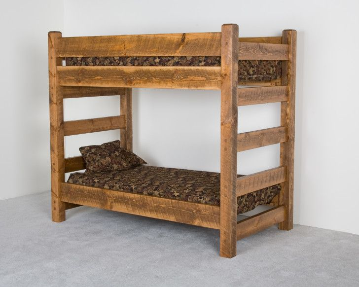 Happily Design Your Own Bunk Bed: Surprising Bedroom Furniture Rustic Style Bunk  Bed Designs For