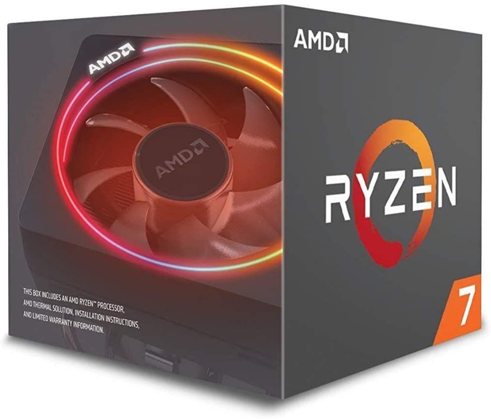 Amd Ryzen 7 2700x Processor With Wraith Prism Led Cooler Yd270xbgafbox In 2020 Amd Processor Rgb Led