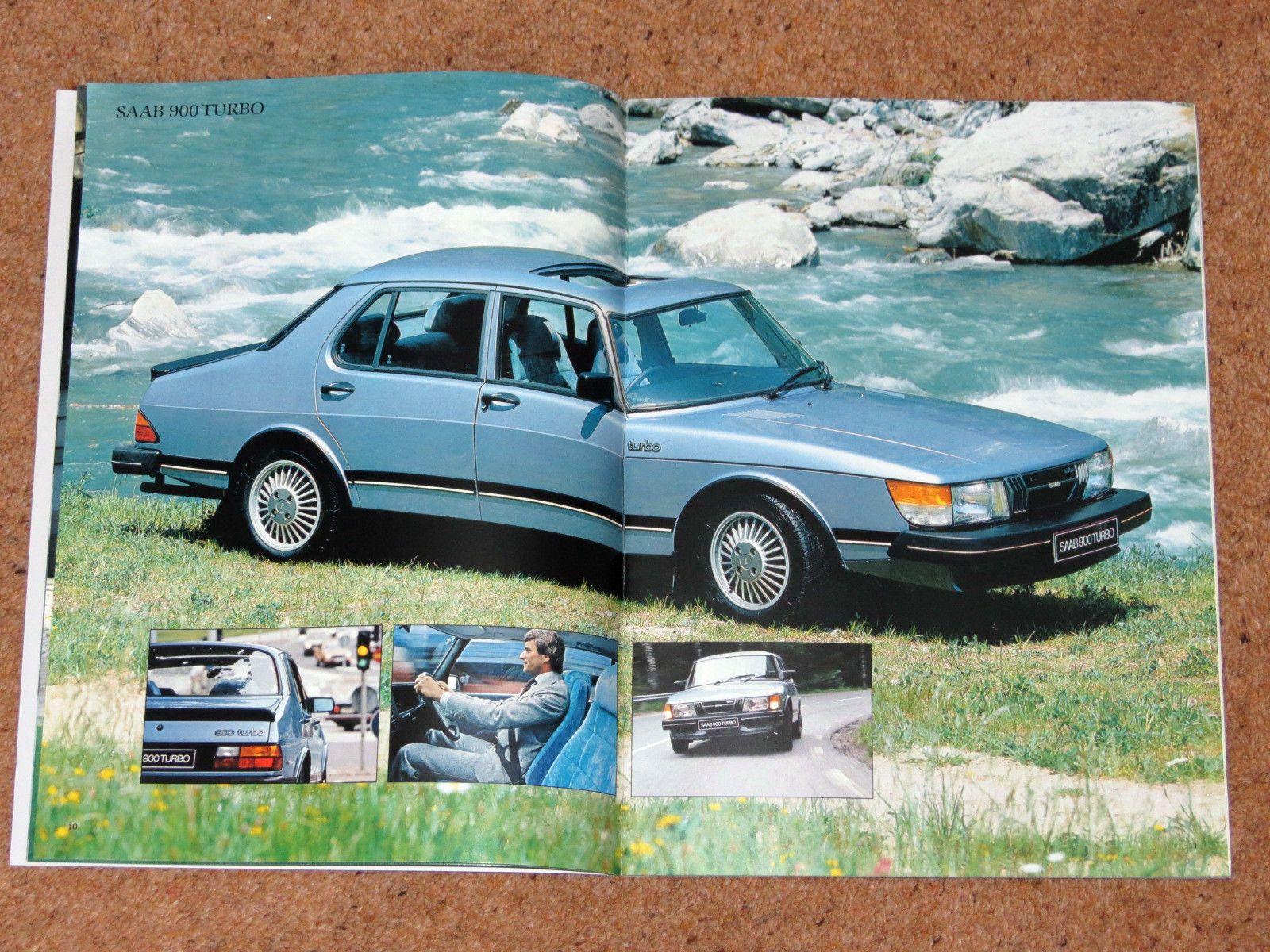 1981 SAAB 900 Sales Brochure Turbo GLE GLi GLS GL