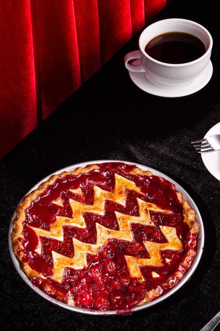 'Twin Peaks' Cherry Pie Recipe Cherry pie, Diner