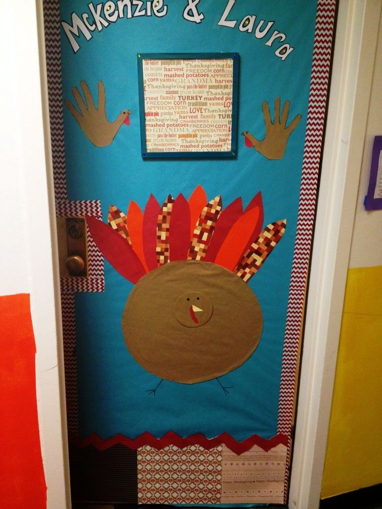 Happy Thanksgiving Giant Turkey Made For Our Dorm Room