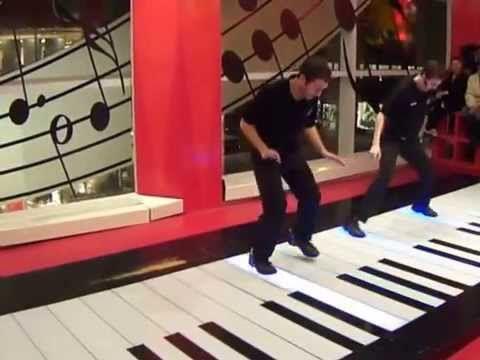 Chopsticks Fao Schwarz Professional Dance On Giant Floor Piano