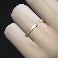 STATUS testing - by Rusty Nail - male & female, gold & silver Simple Jewelry Ring _Rectangle : 네이버 블로그