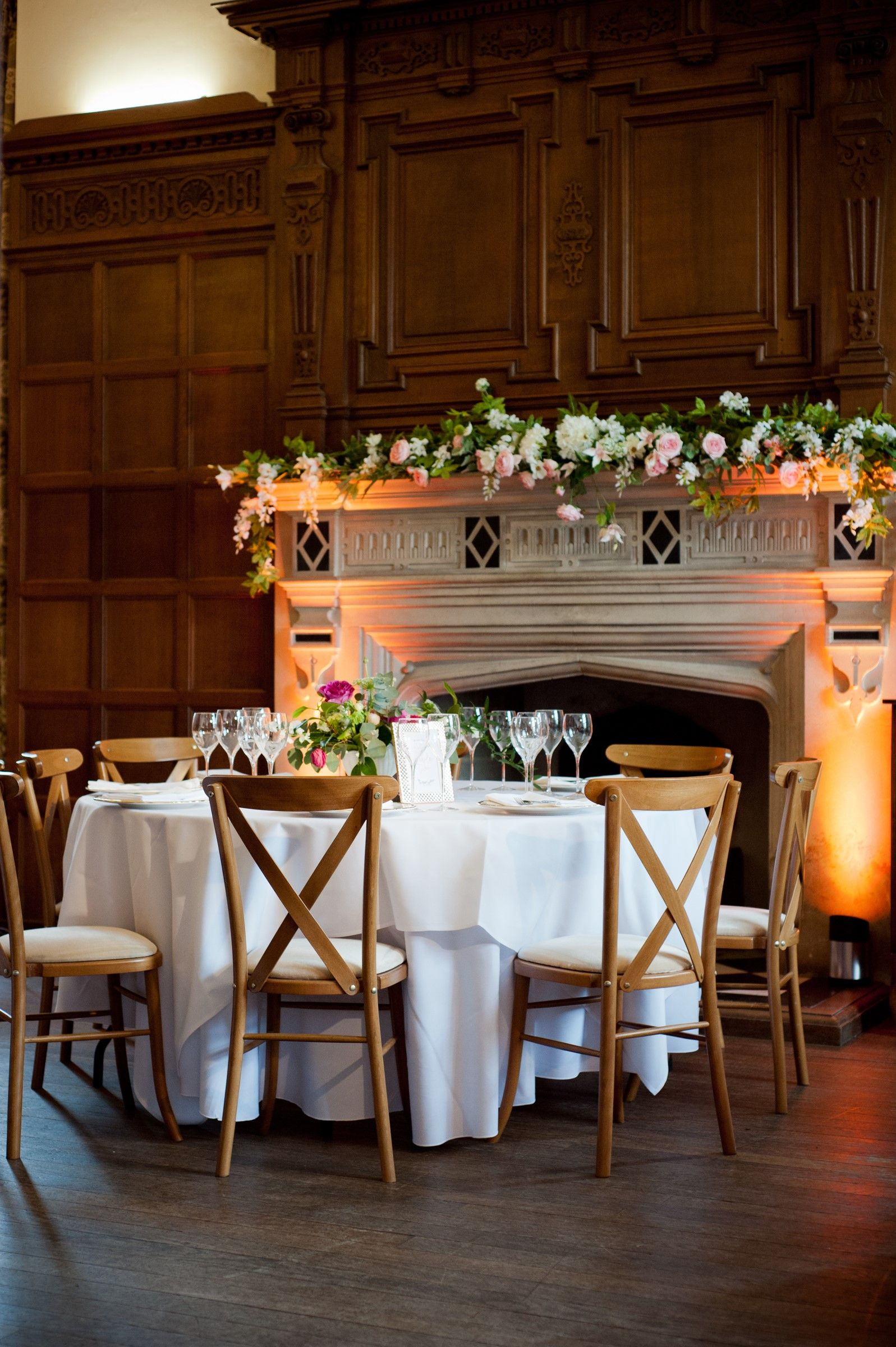 Oxford event hire yarnton manor cross back chairs