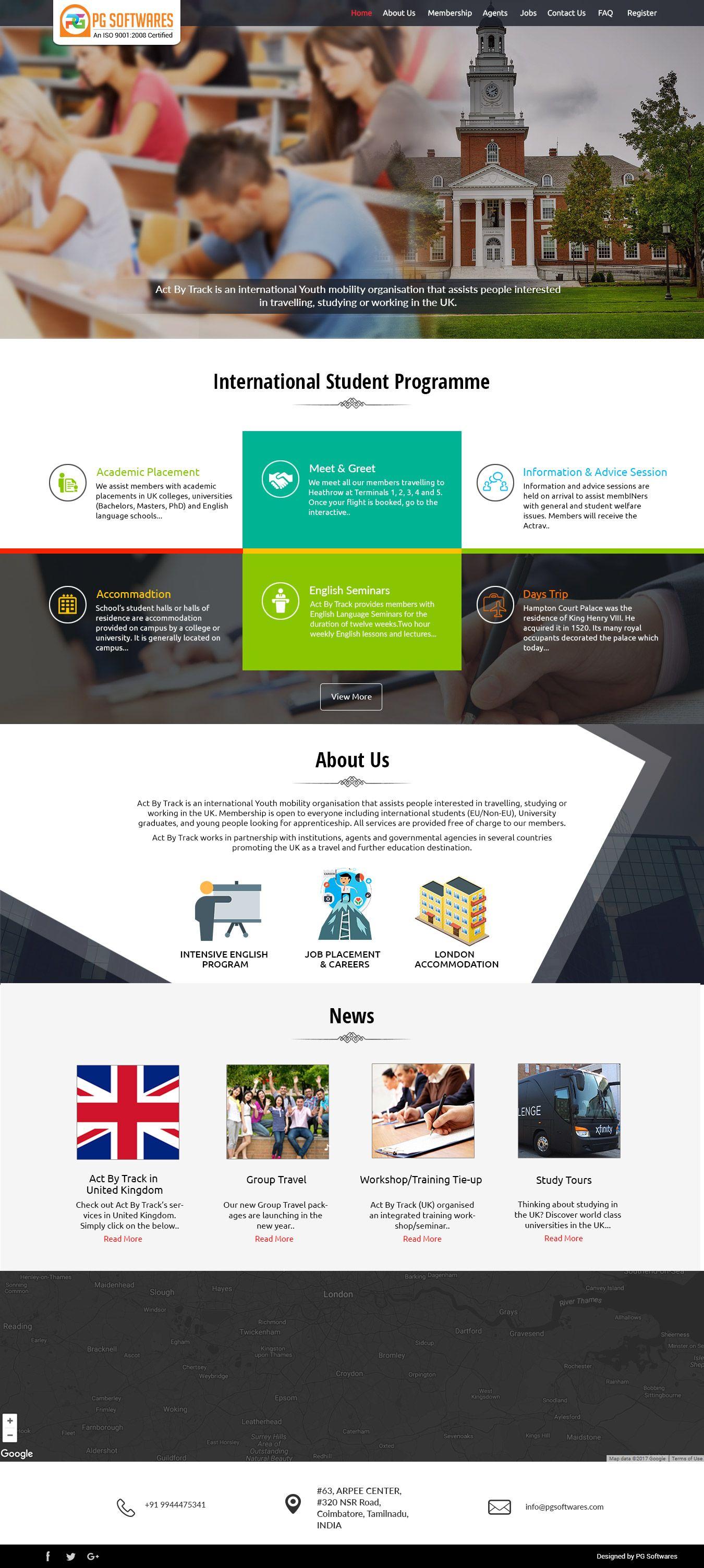Education And Training Responsive Website Template Website Education Wordpress Webdesign Tem Education Website Templates Web Design Corporate Web Design