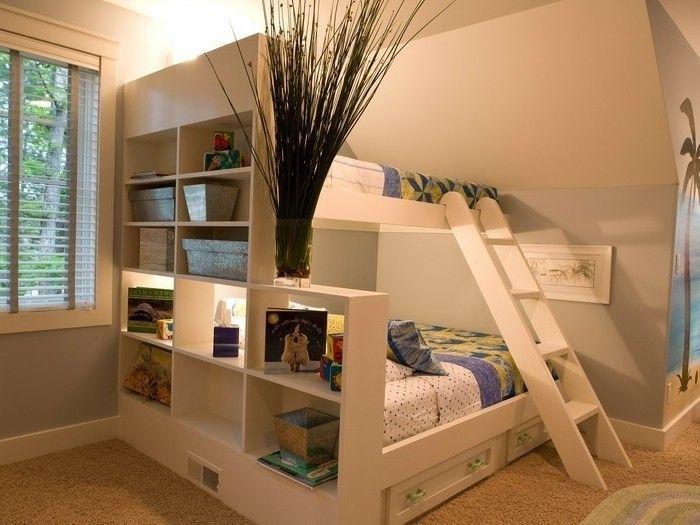 Kinderzimmer Einrichtung für Jungen Regalsystem mit