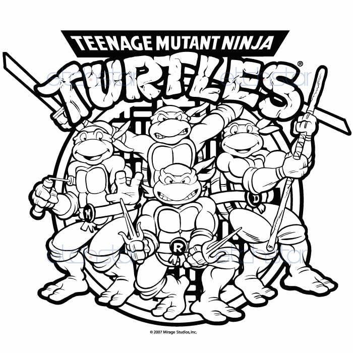pix for teenage mutant ninja turtles drawings