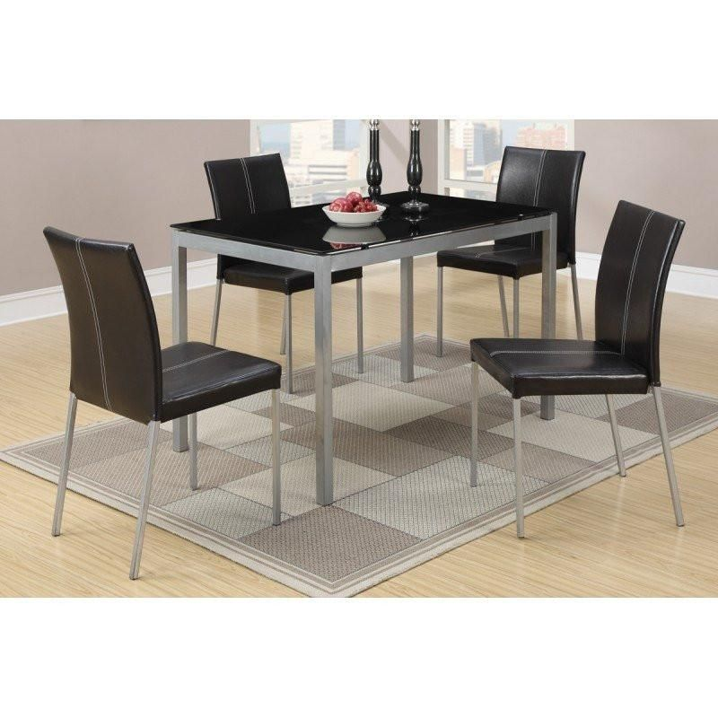 Tempered Glass Dining Table + 4 Chairs in 2018 Products