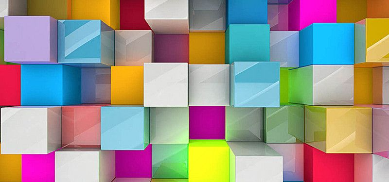 Fashion Three Dimensional High Definition Picture Box Background