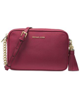 b62b27f8dd MICHAEL KORS Michael Michael Kors Ginny Medium Camera Bag. #michaelkors # bags #shoulder bags #leather #polyester #lining #metallic #