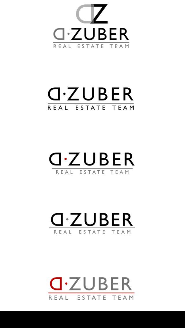 D.Zuber real estate. Fresno Ca. Designed by John Niemotka of Octane Advertising Design.