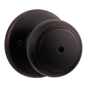 kwikset cove venetian bronze privacy knob venetian cove f c