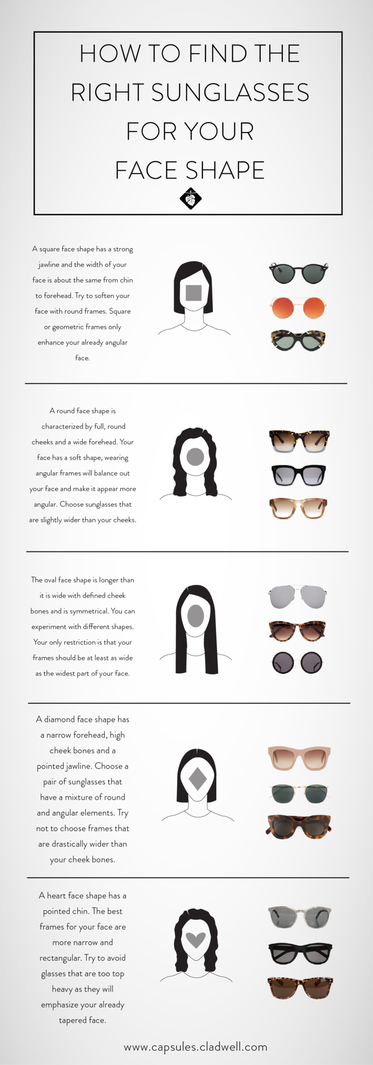 How To Find The Best Sunglasses For Your Face [Women]   Fashion ...