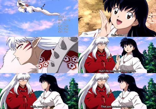 I Loved This Part From The Last Episode Lol Inuyasha Kagome