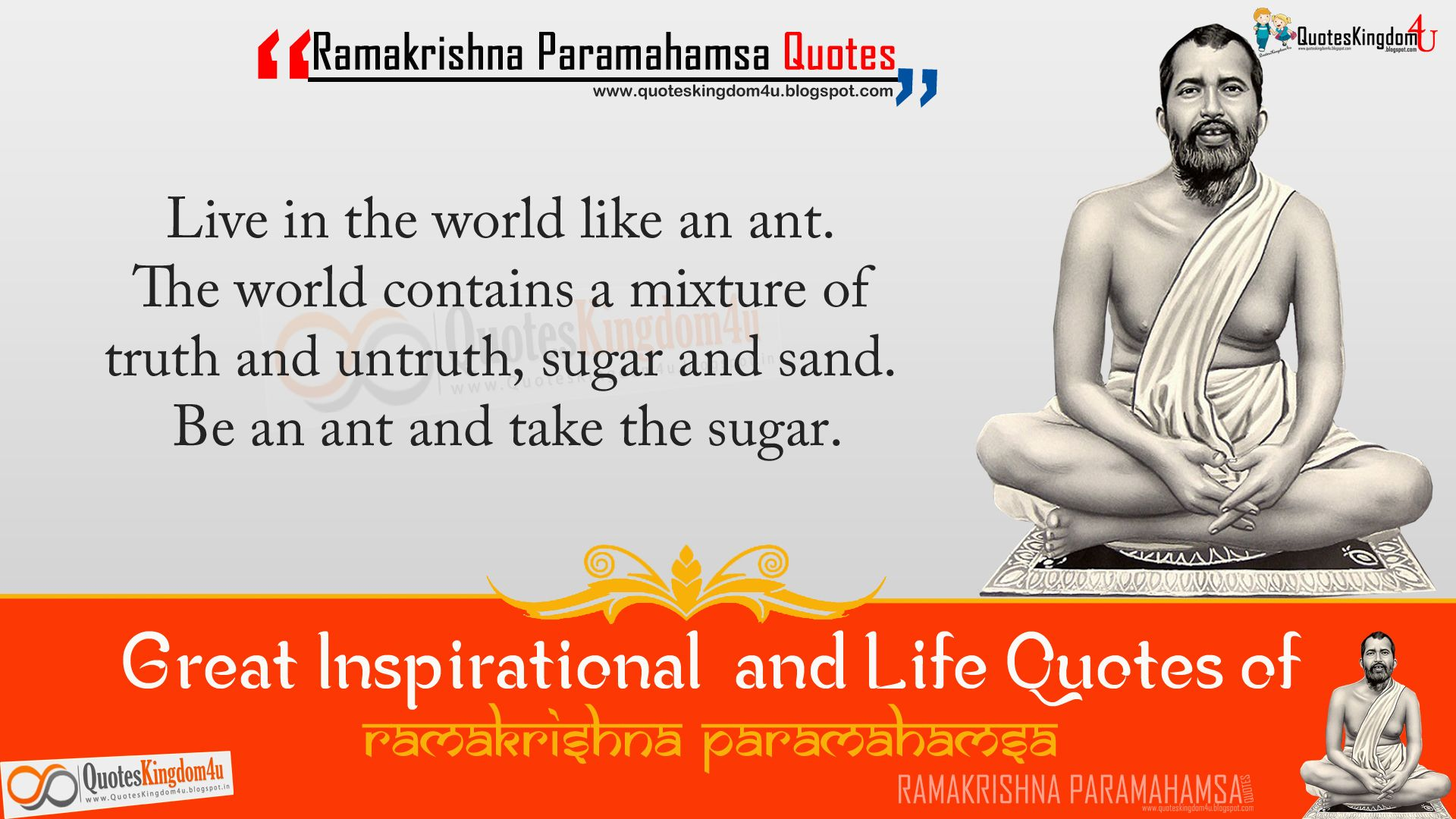 Essay on ramakrishna paramahamsa