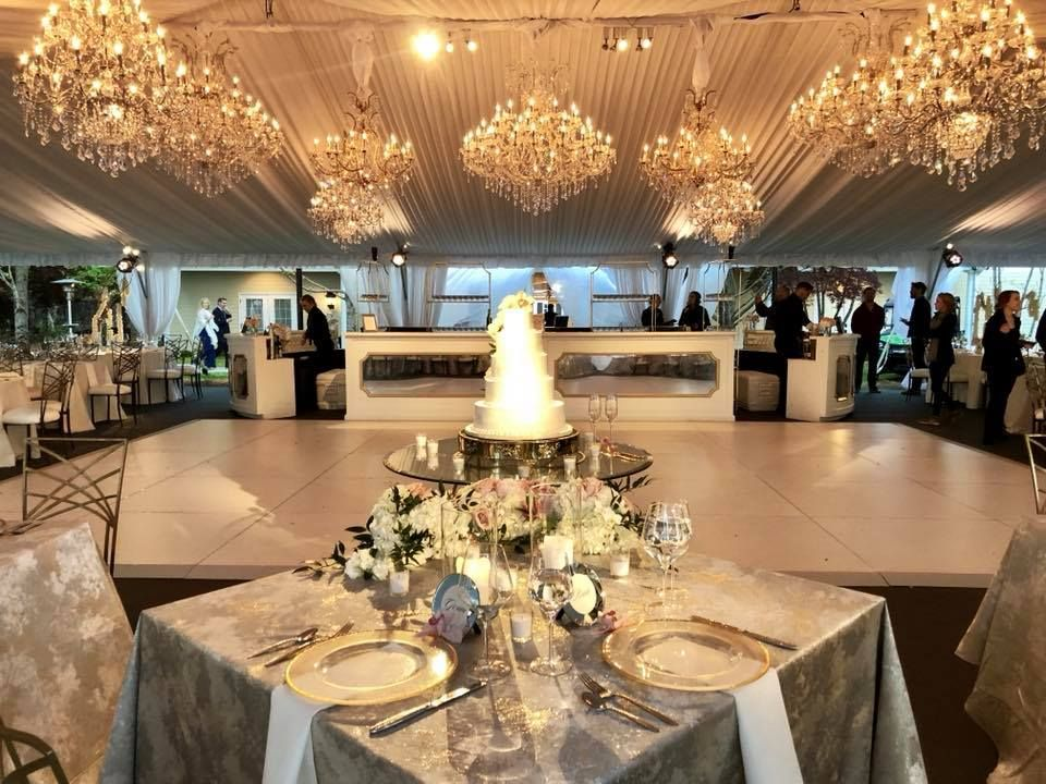 Luxury wedding at The Estate at Cherokee Dock, former