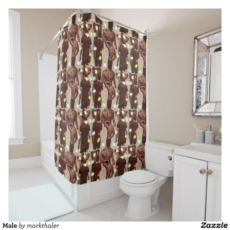 Male Shower Curtain