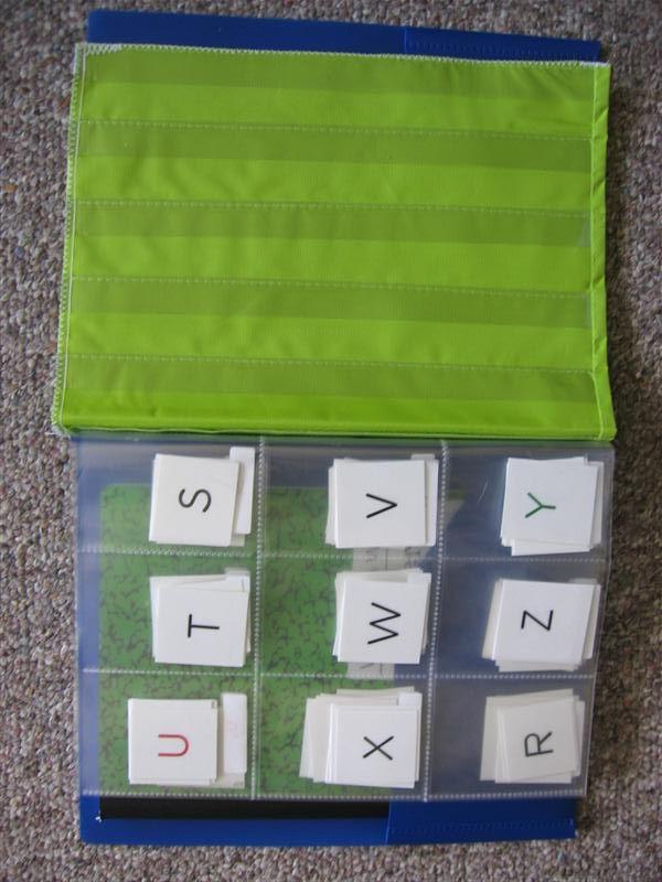 Making Words Notebook Cut A Pocket Chart Dollar Bin At