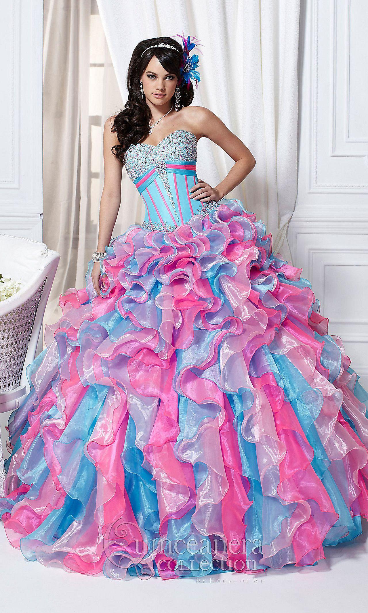 Long Strapless Gown HOW-QC-26706 | Dresses I like | Pinterest ...