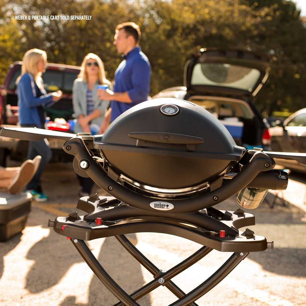 Weber Q 1200 Portable Gas Grill Ad Weber Ad Portable Grill Best Charcoal Grill Grill Smoker Combo Best Smoker