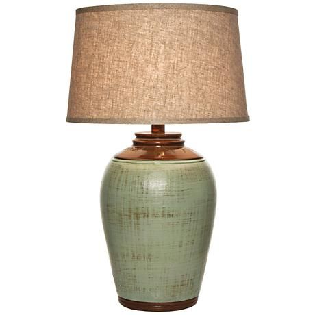 Kearny Celadon Green Table Lamp 5f874 Lamps Plus In 2021 Green Table Lamp Green Lamp Table Lamp