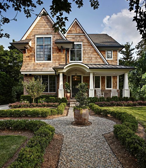 Exterior Home Styles: Brian Neeper Architecture P.C., Bloomfield Hills, MI