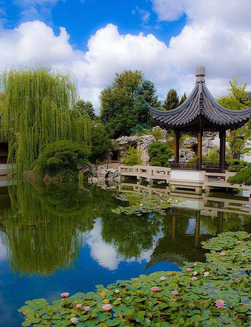 Portland Chinese Garden | Chinese garden, Backyard garden design, Asian garden