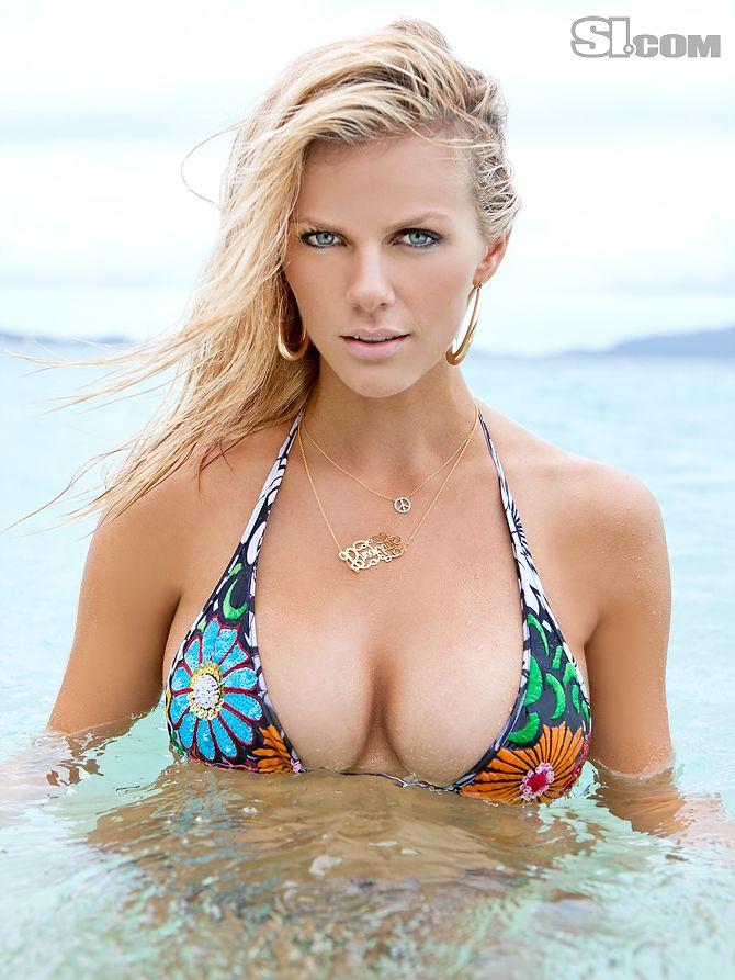 Brooklyn decker hot bikini with