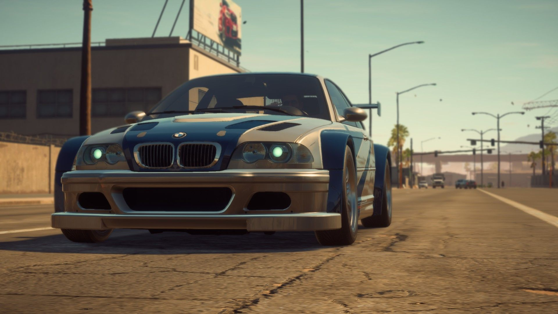The Players Bmw M3 E46 Gtr From Most Wanted 2005 1 Carros