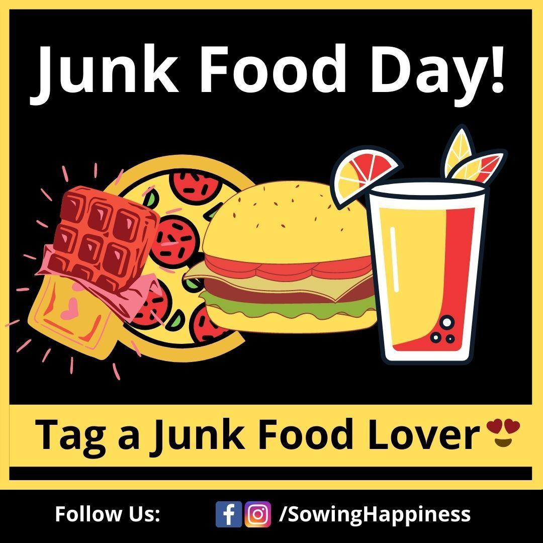 Happy Junk Food! in 2020 Junk food, Food, Sowing