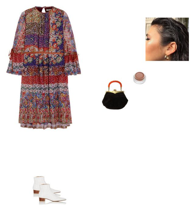 """""""socializing is hard"""" by pieaah ❤ liked on Polyvore featuring Etro and The Row"""