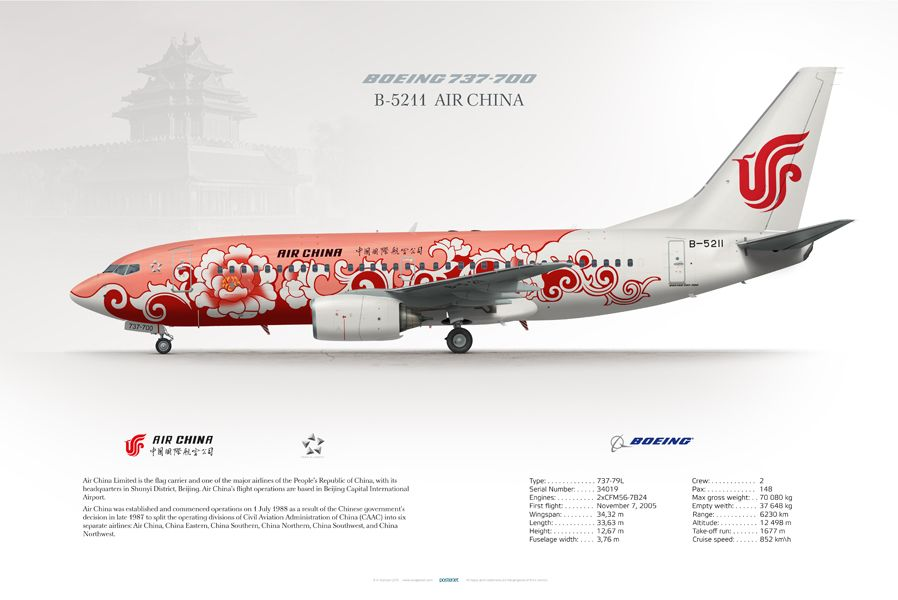 Boeing 737-700 Air China