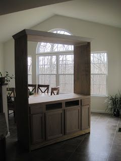 Remodelaholic | From Bathroom Vanity And Book Shelves To Entertainment Center