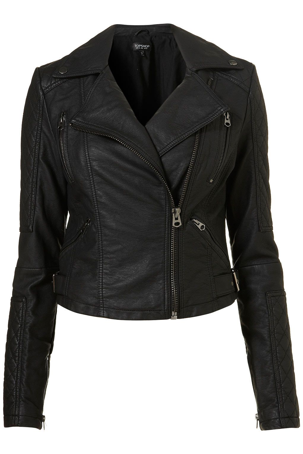 Flexible Leather Jacket Quilted Sleeves Books Worth Reading
