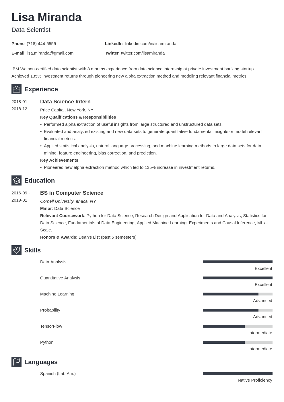college graduate resume example template newcast in 2020