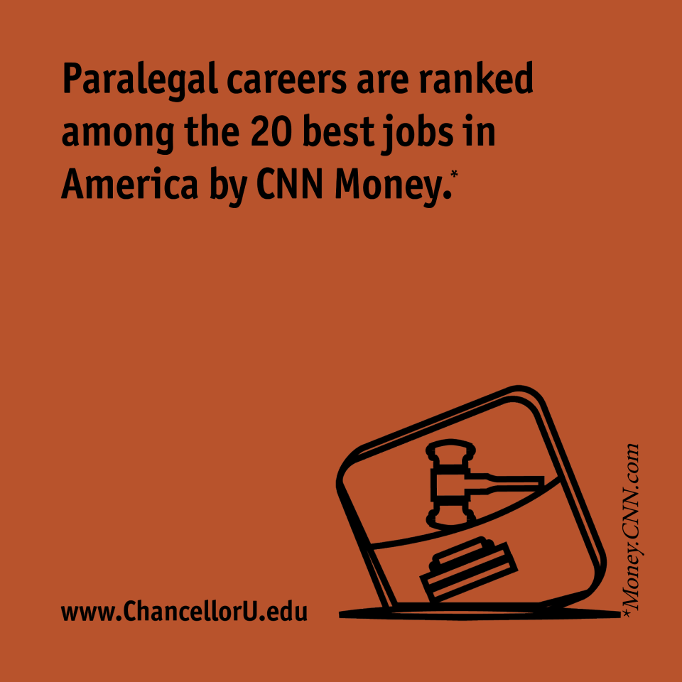 Paralegal Careers Are Ranked Among The 20 Best In The Nation By Cnnmoney Criminal Justice Major Criminal Justice Criminal Justice Careers
