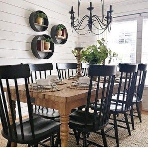 35 Gorgeous Farmhouse Dining Room Decor Ideas Ideas Easy To Managed images