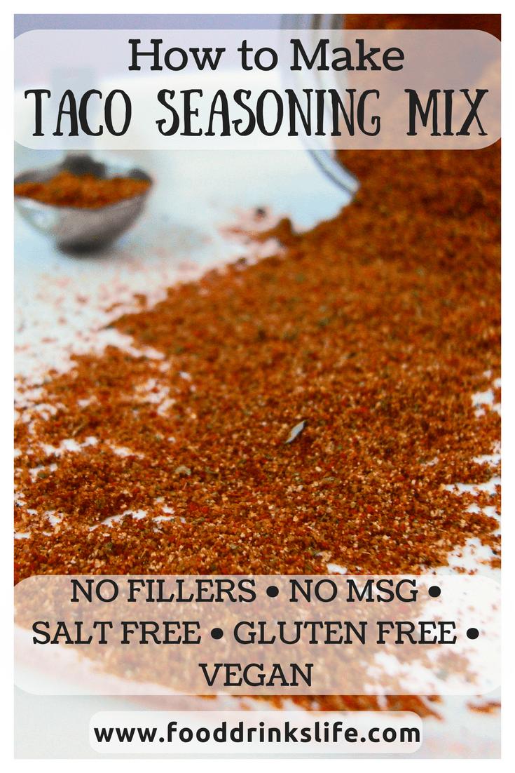 Taco Seasoning Mix #maketacoseasoning